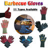 BBQ Gloves Heat Resistant Silicone Gloves Kitchen BBQ Oven Cooking Mitts