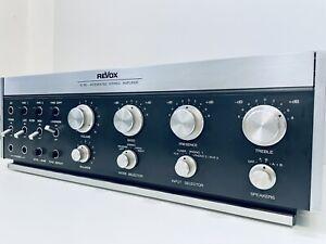 REVOX B750 Integrated Stereo Amplifier + Bedienungsanleitung