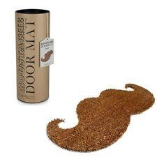 Thabto Moustache shaped indoor outdoor natural coir door mat in Gift Box doormat