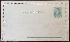 4 Centavos Classic Postal Stationery Card Argentina Carta Postal