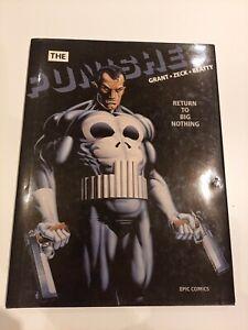 The Punisher Return To Big Nothing Hardback Graphic Novel