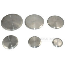 "NEW STAINLESS STEEL SANITARY END CAP FOR 1-1/2"" TRI-CLAMP END PIPES BLANK FLANGE"