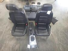 12-14 MERCEDES C-CLASS FRONT REAR SEAT CONSOLE BLACK LEATHER POWER HEAT