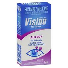 Visine Allergy Eye Drops 15ML Clears and Relieves Itchy, Red Allegry