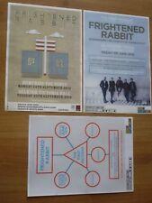 Frightened Rabbit live music memorabilia - Scottish tour concert gig posters x 3