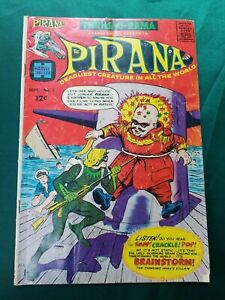 Harvey Thriller 1966 - Vol. 1 #2 The Pirana - Very Good Condition