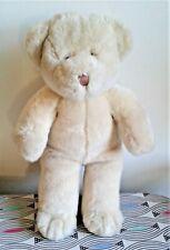 "Ultra Soft 15"" Fluffy Teddy Bear. Bear Factory Soft Toy Plush Comforter EXC"