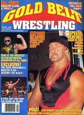 HULK HOGAN Golt Belt Wrestling Magazine April 1990 RANDY SAVAGE/ULTIMATE WARRIOR