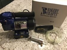Bakery Crafts Mini Compressor w/Tube and Air Brush Nozzle Ab-C4 barely used