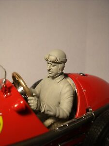 1/18 FIGURE  ALBERTO  ASCARI  DRIVING  FERRARI 500  F2  VROOM  FOR  EXOTO  CMC