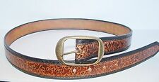 Handmade Real Cowhide Belt Western Style Genuine Leather Special Design