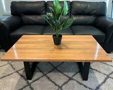 Australian Made Natural Blonde Hardwood Coffee Table