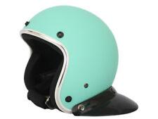 HTH 805A Open Face Helmet Motorcycle scooter Matte Green