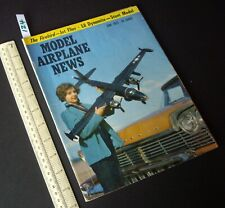 1957 June Vintage Model Airplane News USA Aeromodelling Hobby Magazine   (124)