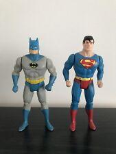 Dc Comics Vintage Kenner Super Powers Batman & Superman Figures 1984