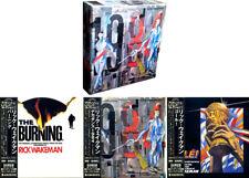 """Rick Wakeman"""" 1984 """"Le Japon MINI LP 3 CD BOX Yes"""
