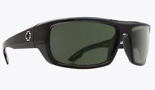 NEW Spy Bounty Sunglasses-Black Shiny ANSI RX-Gray Polarized-SAME DAY SHIPPING!