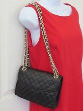 NWOT Rebecca Minkoff Mini Quilted Affair Crossbody Bag Black/Gold 10028916