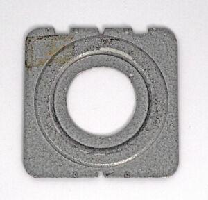 Plaubel Peco Jr. Lens Board Opening 43.5mm USER QUALITY
