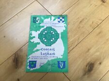 GAA Programme All=Ireland Senior Football Final 1957