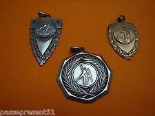 3 jolies anciennes médailles, handball