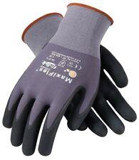 Pip G Tek Maxiflex Ultimate Work Gloves Micro Foam Nitrile Palm Amp Finger Tips