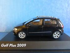 VW VOLKSWAGEN GOLF 6 PLUS TSI RABBIT 2009 BLACK METAL SCHUCO 1/43 NOIR SCHWARZ