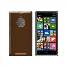 Cover per Nokia Lumia 830, in silicone TPU trasparente Nero