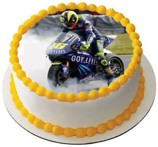Motorcycle suit Driver Helmet eßbar Cake Picture Party Decoration Birthday New Race