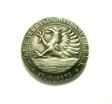 German Medal 15.8.1926 / Hindenburg / Weimar Republic / Exonumia Silvered Token