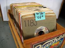45 rpm vinyl records singles VG+ Top 40 HITS 70s/80s YOU SELECT CLEANED & PLAYS