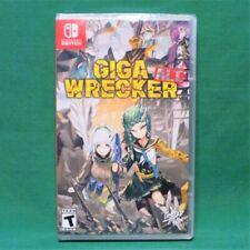 Giga Wrecker Alt. (Nintendo Switch) Variant Cover Limited Run #33 Region Free