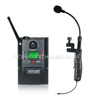 UHF Professional saxophone Wireless Microphone System for Stage performance