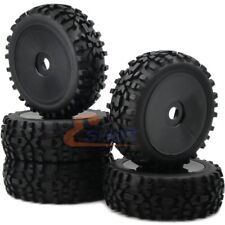 5pc RC 1/8 Off Road Buggy Tire Badland All Terrain AT tyre & Hex 17mm Disc Wheel