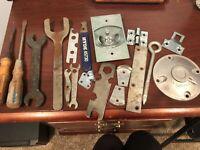 Vintage Junk Drawer Lot Tools Home Improvement Miscellaneous
