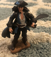 """Captain Jack Sparrow Action Figure Pirates of the Caribbean 3-1/4"""" Tall"""
