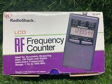Radio Shack 22-306 LCD RF Frequency Counter E1