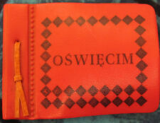 OSWIECIM CONCENTRATION CAMP FOLD OUT PICTURE BOOKLET