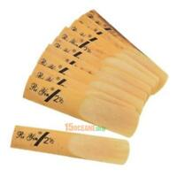 10pcs/pack Alto Sax Saxophone Reed B Dropped 2 and a Half Clarinet Reed Size 2.5