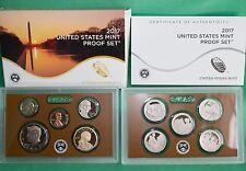 2017 S United States Mint ANNUAL 10 Coin Proof Set Original Box & COA Complete