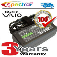 Genuine Original Sony Vaio VPCCA Laptop Charger AC Adapter Power Supply Cord for