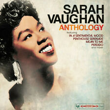 Sarah Vaughan - Anthology LP Colored Vinyl Album SEALED NEW Best Of HITS Record
