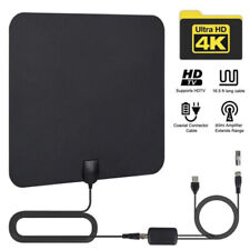 Digital ATSC/DVB-T2 Antenna TV HD 4K Antena Digital Indoor HDTV 1080p Ampliy3