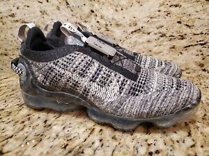 Nike Men's Air Vapormax 2020 Flyknit Black White Shoes CT1823-001 Size 10