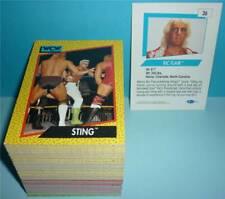Impel WCW Wrestling Trading Cards *PREMIERE EDITION* KOMPLETT 162 Karten wwe nxt