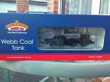 Bachmann 35-050 LNWR Webb Coal Tank 0-6-2T 1054 LNWR plain black locomotive BNIB