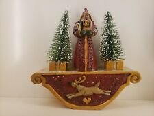 Midwest of Cannon Falls - Pam Schifferl - Santa on reindeer stand - Rare