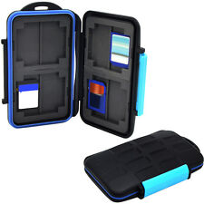 Memory Card Storage Case Holder for 8 x SDHC Cards MC-SD8 Waterproof Anti-shock