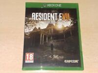 Resident Evil Biohazard Xbox One **FREE UK POSTAGE**