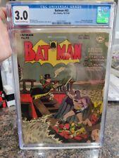 DC Comics Batman #43 CGC 3.0 Golden Age Penguin Cover